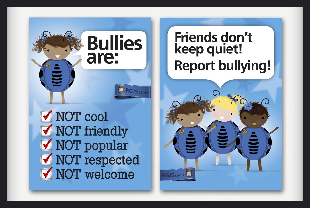 rustenburg girls junior school anti bullying poster design