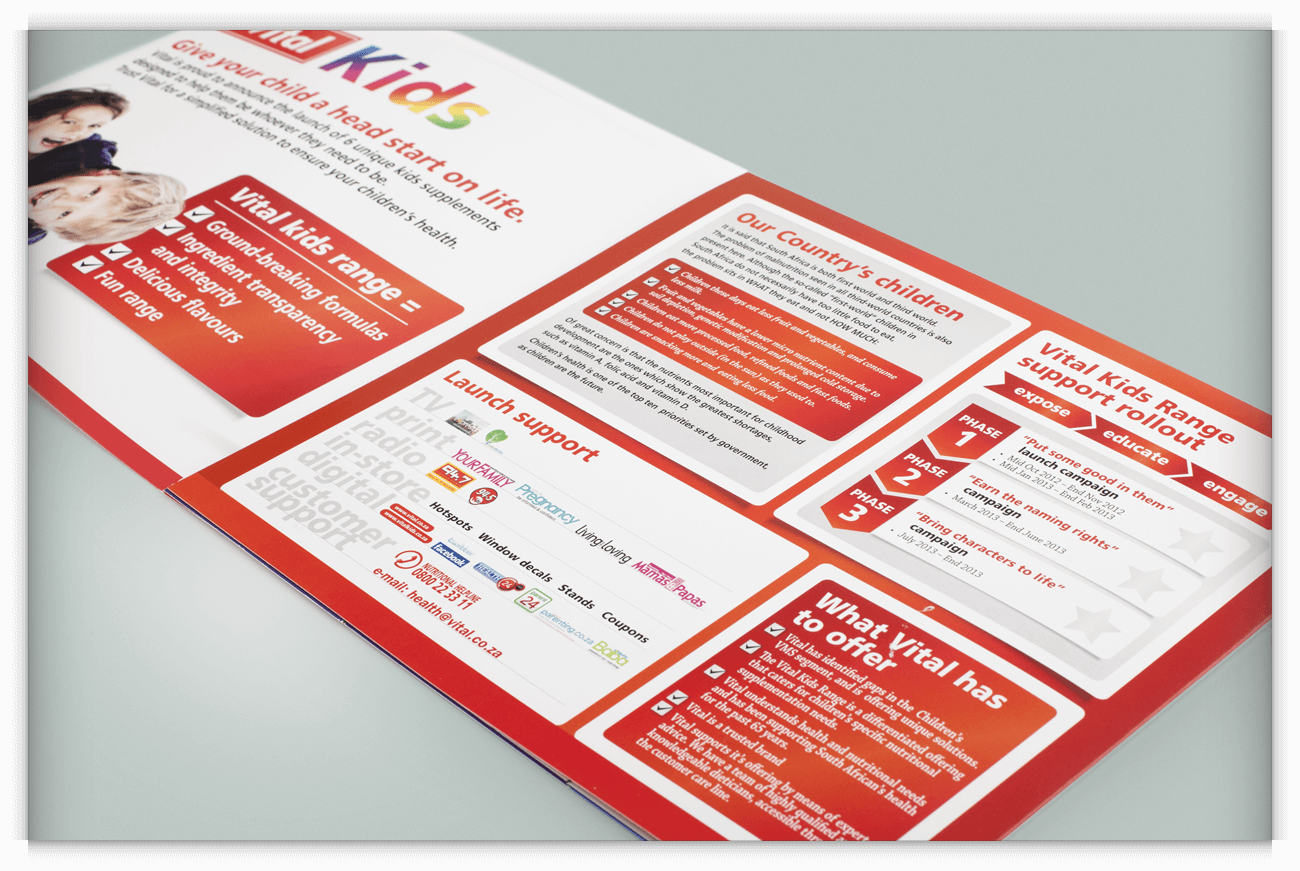 Love & Design Graphic Designer | Trade Presenter Layout Design