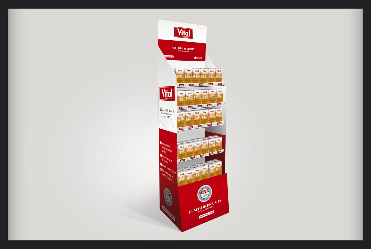 Love & Design Graphic Designer   In-store Product Stand Design